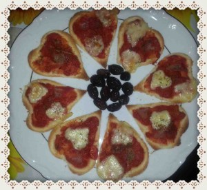 mini pizzette golose